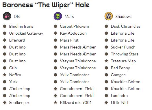 Baroness 'The Wiper' Hale