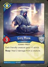 Grey Monk