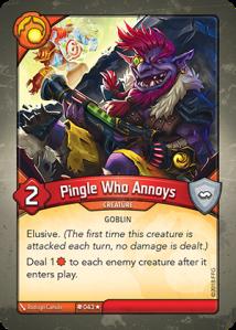 Pingle Who Annoys