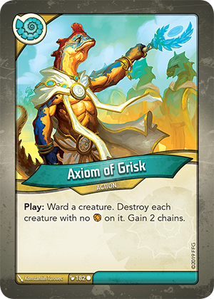 Axiom of Grisk