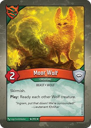 Moor Wolf