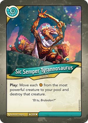 Sic Semper Tyrannosaurus