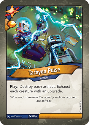 Tachyon Pulse
